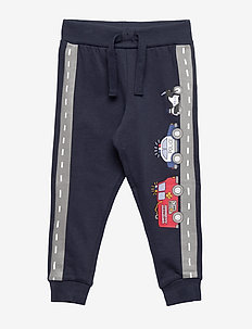 Trousers firetruck on road - DARK NAVY