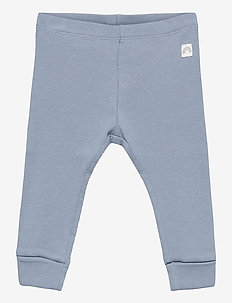 Leggings rib solid - leggingsit - blue