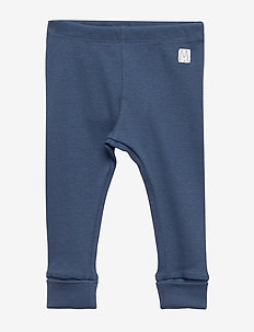 Leggings rib solid - DK DUSTY BLUE