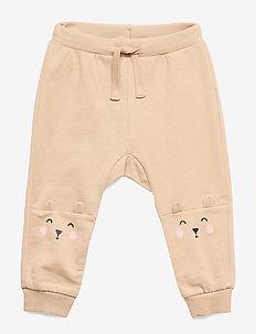 Trousers bear knee - BEIGE