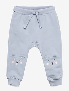 Trousers bear knee - DUSTY BLUE