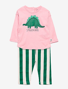 Set top   leggings Dino - LIGHT PINK