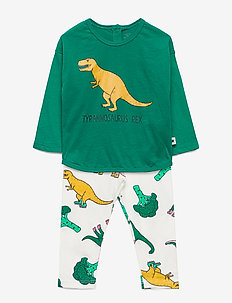 Set top   leggings Dino - STRONG GREEN