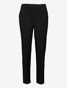 Trousers Polly color - casual trousers - black
