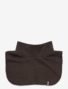Scarf fakepolo fleece - winterkleidung - black
