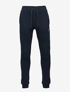 Sweatpants with reinforced knees - DARK NAVY