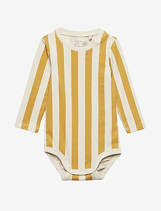 Body Block stripe - DK DUSTY YELLOW