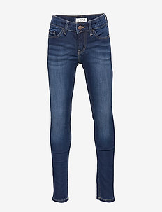 Denim trousers brushed inside - DENIM