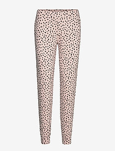 Night Trousers Leo Dot - broeken - light pink
