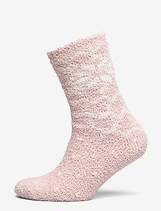 Sock Christmas cozy - LIGHT PINK
