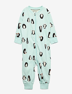 Pyjamas Penguin - LIGHT DUSTY TURQUOISE
