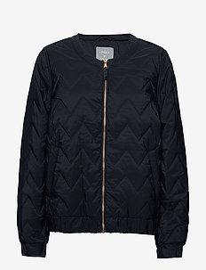 Jacket Agnes - bomber jakker - dark navy