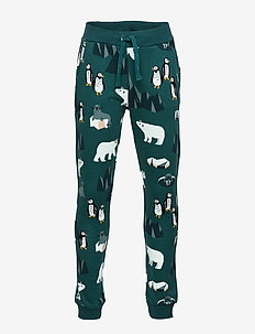 Trousers Arctic AOP - DARK DUSTY TURQUOISE