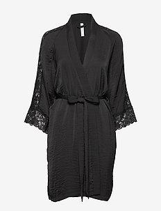 Robe Kimono Lassie - BLACK