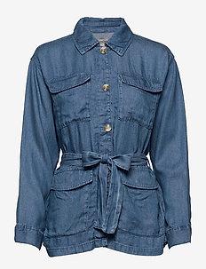 Jacket indoor Carrie - jeansjackor - denim blue