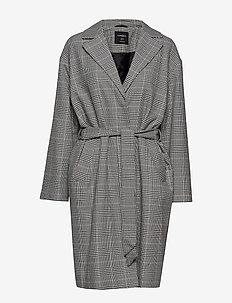 Coat Nora - villakangastakit - beige
