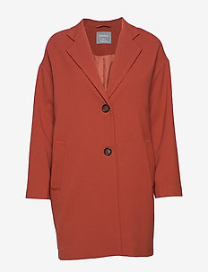Coat Lina - vestes legères - dark dusty red