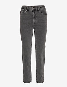 Denim trousers Nea washed blac - straight jeans - black