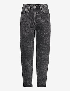 Denim trousers Pam acid black - straight jeans - black