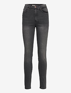 Trousers denim Clara black - skinny jeans - black