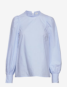 Blouse Ingrid - langärmlige blusen - light blue