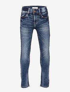 Trousers denim jersey slim Jim - jeans - light denim