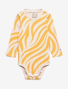 Body Zebra - dark dusty yellow