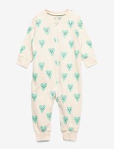Pyjamas Heart - light beige