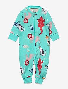Pyjamas Lion Croco   friends - AQUA