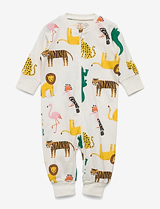 Pyjamas Lion Croco   friends - LIGHT DUSTY WHITE