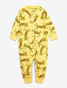 Pyjamas Leo aop - YELLOW