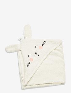 Towel terry Rabbit - akcesoria - white