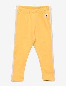Leggings Side Stripe - leggings - dark dusty yellow
