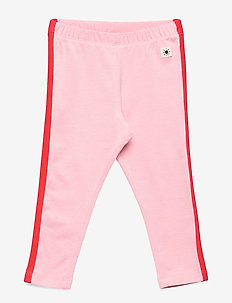 Leggings Side Stripe - leggings - light pink
