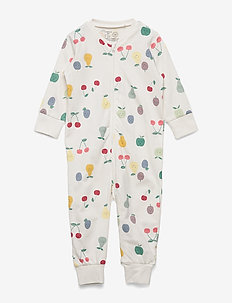 Pyjamas Aop Fruits - one-sie - light dusty white