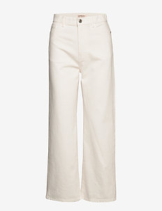 Trousers denim Hanna white - OFF WHITE