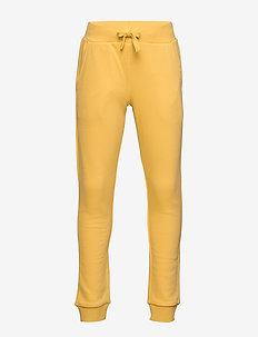 Trousers Jogging Basic Fashion - DUSTY YELLOW