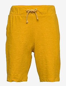 Shorts Slub - shorts - dark dusty yellow