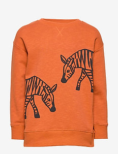 Sweater Zebra - sweatshirts - dusty orange