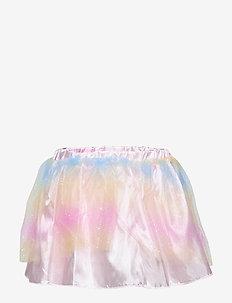 Dress up set rainbow skirt and - spódnice - light pink