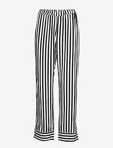 Night Trousers Woven stripe El - offblack