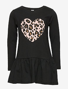 Top long stylish P1 - kjoler - black