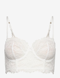 Bra  Smilla Bustier - beugel bh - light white