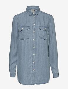 Shirt Zola denim - farkkupaidat - denim blue