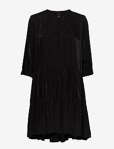 Dress Zara - krótkie sukienki - black