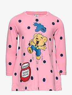 Top long Bamse with pocket - LIGHT PINK