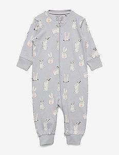Pyjamas Bunnies - LIGHT GREY