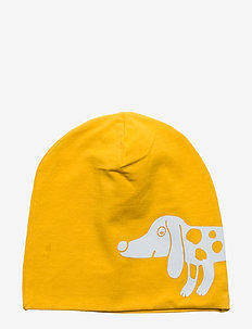 Cap tricot reflective dog - DARK DUSTY YELLOW