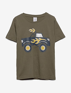 Top SS Monster truck - short-sleeved - dark green