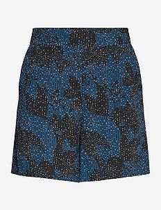 Shorts Jill aop - casual szorty - dusty blue